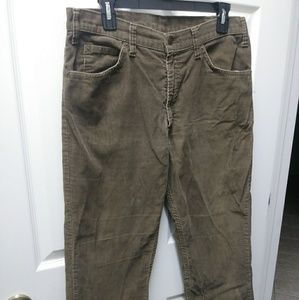 Long pants.courderoy.brown
